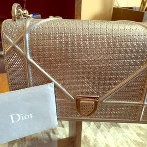 Dior Calfskin Shoulder Bag